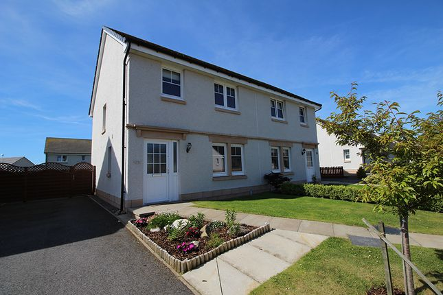 Thumbnail Semi-detached house for sale in Seaforth Drive, Fortrose