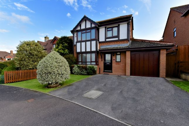 Thumbnail Detached house for sale in Toms Close, Chard