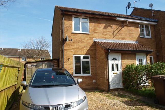 Thumbnail End terrace house for sale in Mokyll Croft, Taverham, Norwich