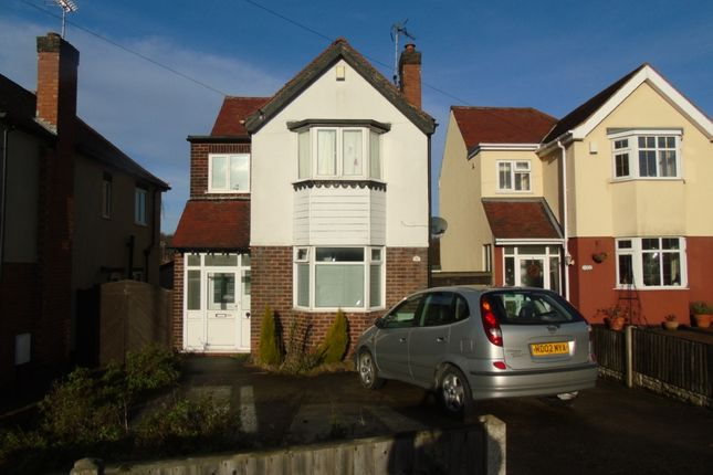 Thumbnail Detached house to rent in Eakring Road, Mansfield, Nottinghamshire