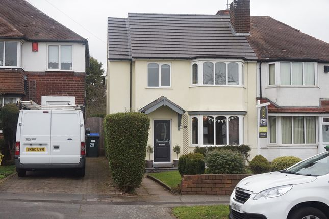 Thumbnail Semi-detached house for sale in Morjon Drive, Great Barr, Birmingham