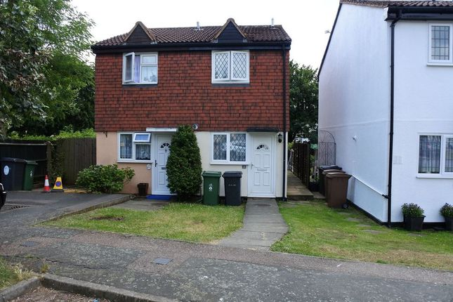 Thumbnail Semi-detached house to rent in Stapleford Close, London