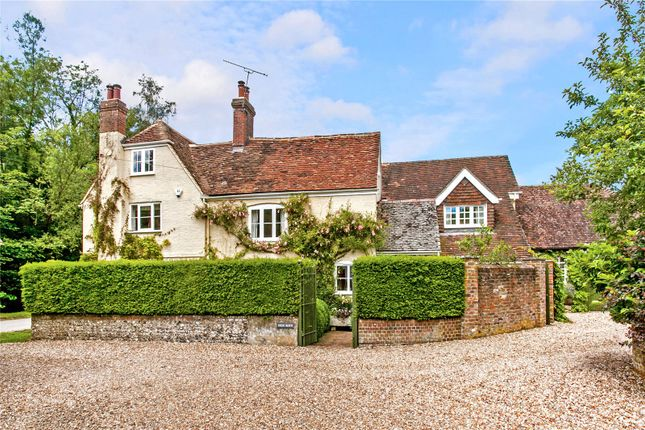 Thumbnail Detached house for sale in Warnford, Hampshire