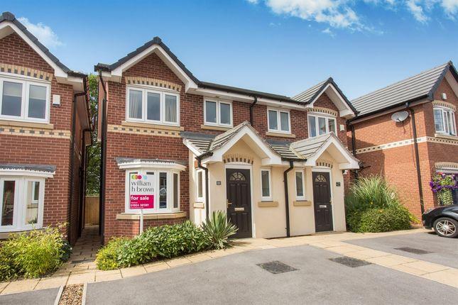 Thumbnail Semi-detached house for sale in Hanson Court, Normanton