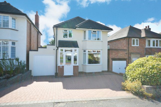 Thumbnail Detached house for sale in Doveridge Road, Hall Green, Birmingham