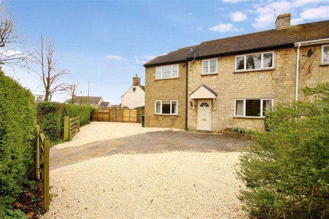 Thumbnail Semi-detached house to rent in Highworth Road, Shrivenham, Oxfordshire