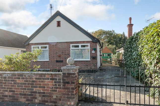 Thumbnail Detached bungalow for sale in Common Lane, New Haw, Addlestone