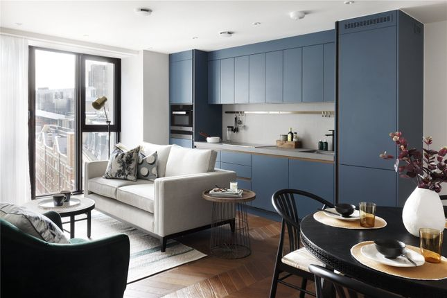 Reception of Hexagon Apartments, 43-49 Parker Street, Covent Garden, London WC2B