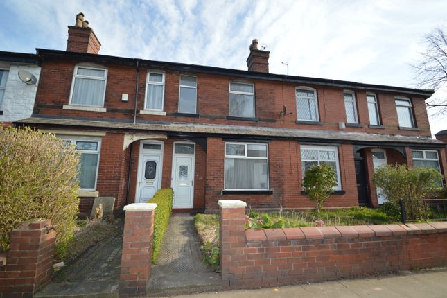 Thumbnail Terraced house to rent in Bury Old Road, Whitefield, Manchester