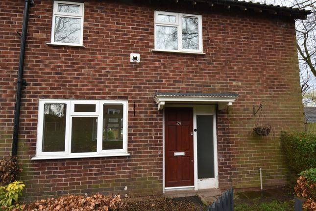 Thumbnail End terrace house for sale in Alton Drive, Macclesfield
