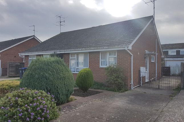 Thumbnail Semi-detached bungalow for sale in Manitoba Way, Worthing