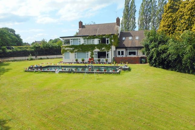 Thumbnail Detached house for sale in Longton Road, Knenhall, Stone