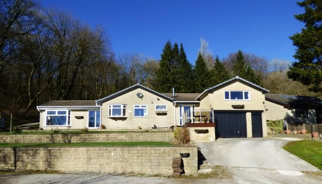 Thumbnail Bungalow for sale in Corbar Woods Lane, Buxton, Derbyshire