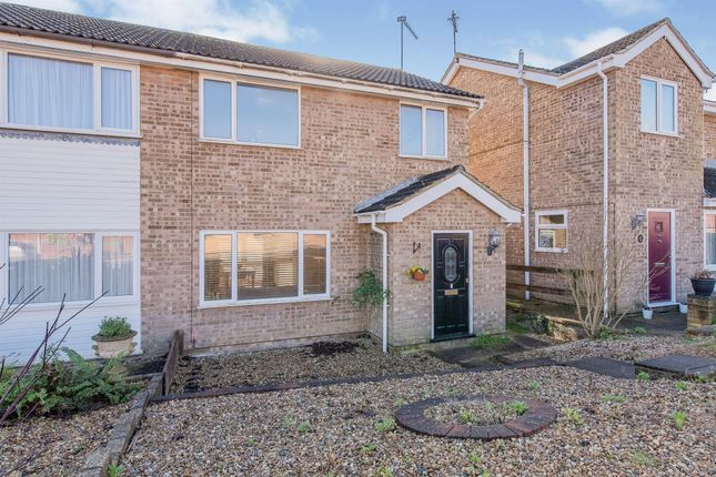 Semi-detached house for sale in Treeview, Stowmarket