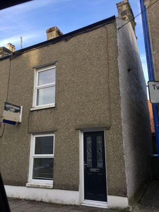 Thumbnail End terrace house for sale in Chapel Street, Porthmadog