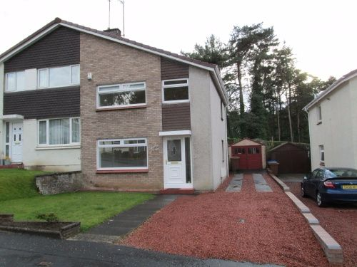 Thumbnail Semi-detached house to rent in Pine Brae, Ayr
