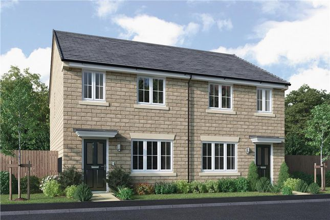 """3 bed semi-detached house for sale in """"Overton"""" at King Street, Drighlington, Bradford BD11"""