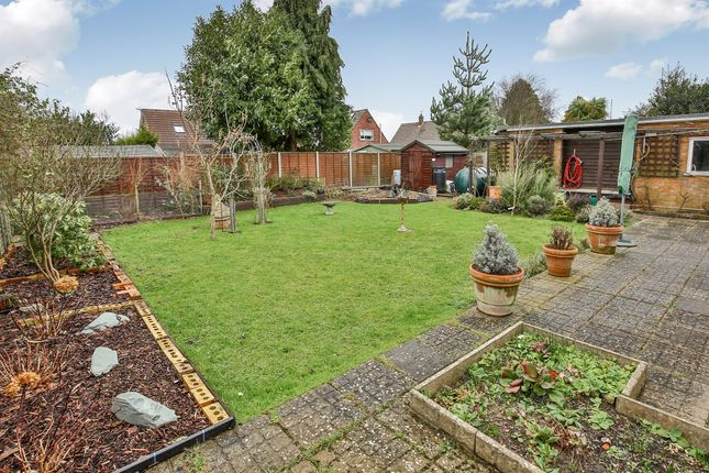 Thumbnail Detached bungalow for sale in Manor Close, Little Snoring, Fakenham