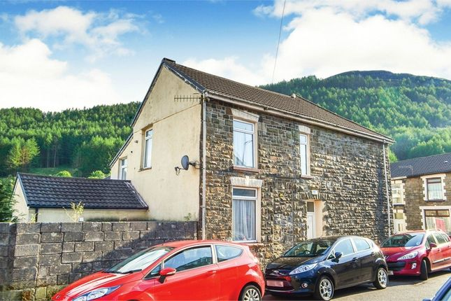 Thumbnail End terrace house for sale in Gwendoline Street, Treherbert, Treorchy, Mid Glamorgan
