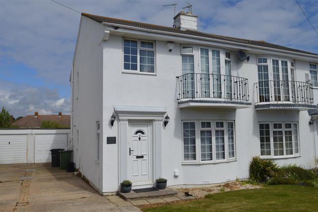 Thumbnail Semi-detached house for sale in Cooden Drive, Bexhill-On-Sea