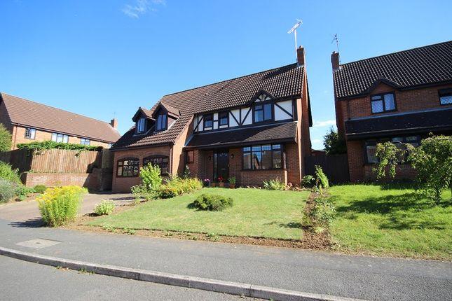 Thumbnail Detached house for sale in Ashton Grove, Wellingborough, Northamptonshire.