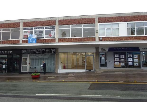 Thumbnail Retail premises for sale in Market Street, Crewe, Cheshire