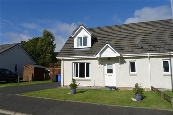 Thumbnail Semi-detached house for sale in Glen Court, Brodick, Isle Of Arran