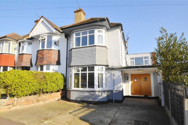 Thumbnail Semi-detached house for sale in Park Road, Leigh-On-Sea, Essex