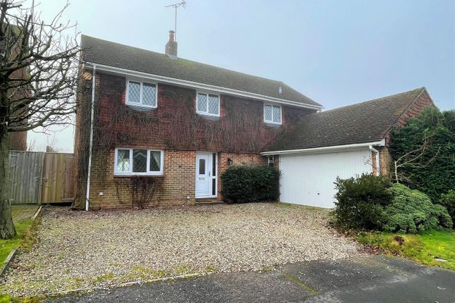 Thumbnail Detached house for sale in Lipscomb Close, Hermitage, Thatcham