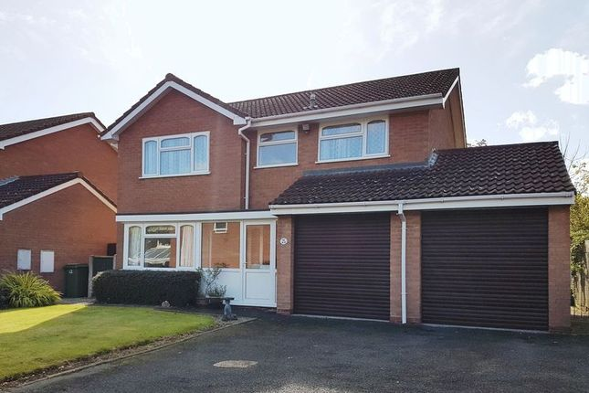 Thumbnail Detached house to rent in Earlswood Drive, Madeley, Telford