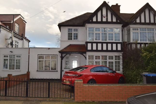 Thumbnail Semi-detached house for sale in 3 Bedroom Semi Detached House, Conway Gardens, South Kenton