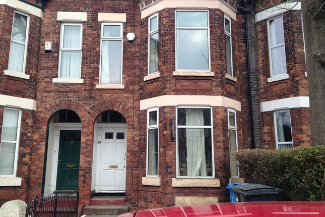 Thumbnail Shared accommodation to rent in Keppel Road, Chorlton