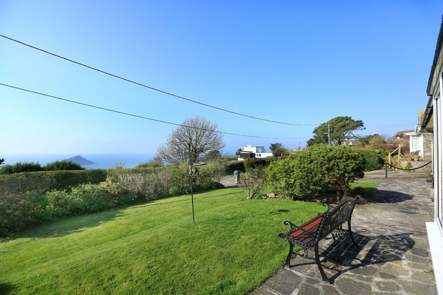Thumbnail Detached bungalow for sale in Spring Road, Wembury Point, Plymouth