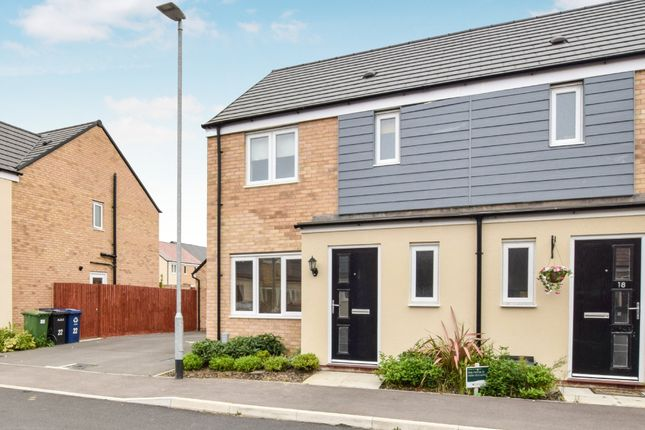 Thumbnail Semi-detached house for sale in Bloomfield Drive, Huntingdon