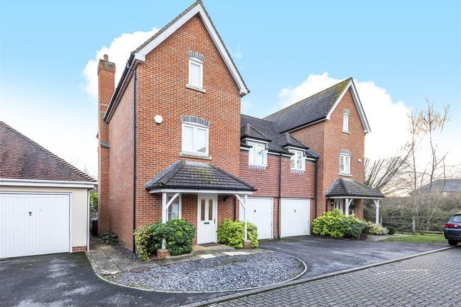 Thumbnail Town house for sale in Wolage Drive, Grove, Wantage