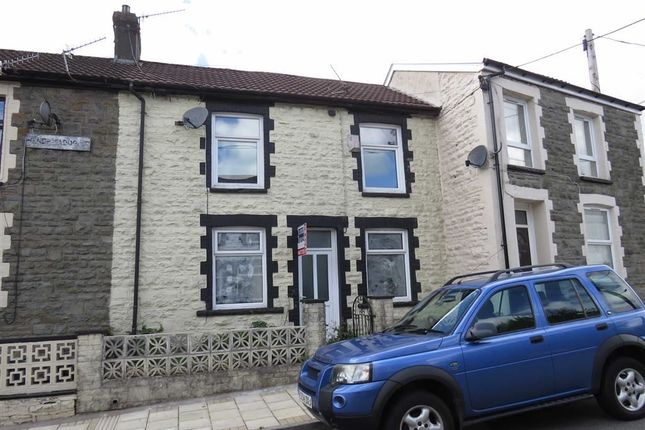 Thumbnail Terraced house to rent in Hendrefadog Street, Tylorstown, Ferndale
