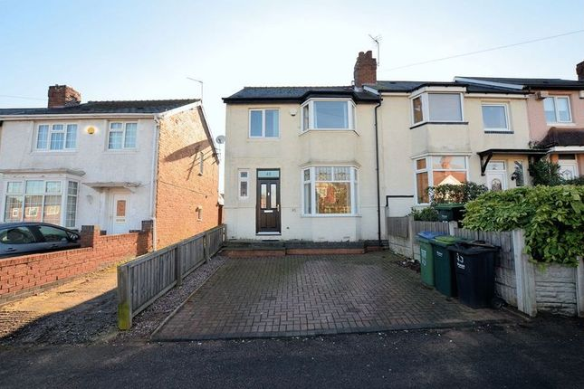 Thumbnail End terrace house for sale in William Road, Bearwood, Smethwick