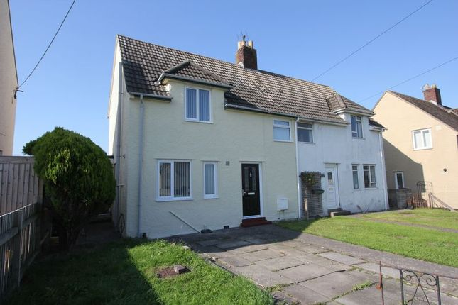 Thumbnail Semi-detached house for sale in Trebeferad, Boverton, Llantwit Major