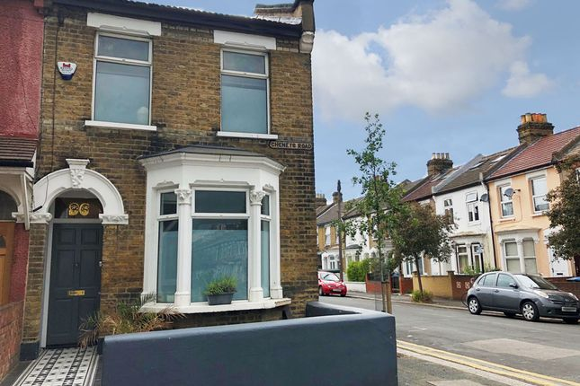 Thumbnail End terrace house for sale in Cheneys Road, Leytonstone