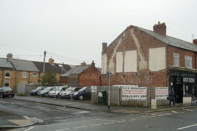 Thumbnail Land for sale in Land, 106 Milburn Road, Ashington