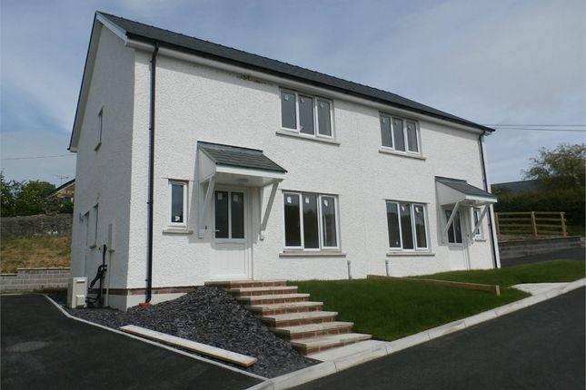 Thumbnail Semi-detached house for sale in 2 And 3 Ty'r Ysgol, Lledrod, Aberystwyth, Ceredigion