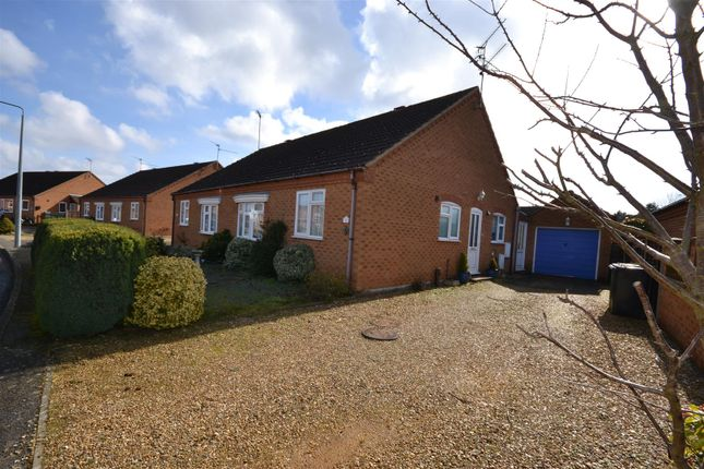 Thumbnail Semi-detached bungalow for sale in Wiclewood Way, Dersingham, King's Lynn