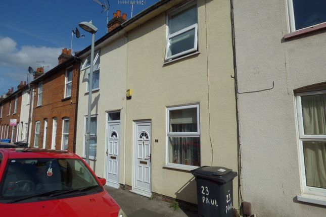 Thumbnail Terraced house for sale in Pauline Street, Ipswich