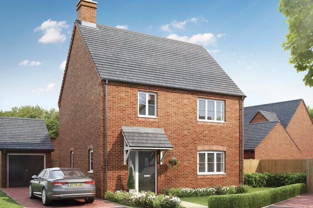Thumbnail Detached house for sale in Fernhill Heath, Worcester, Worcestershire