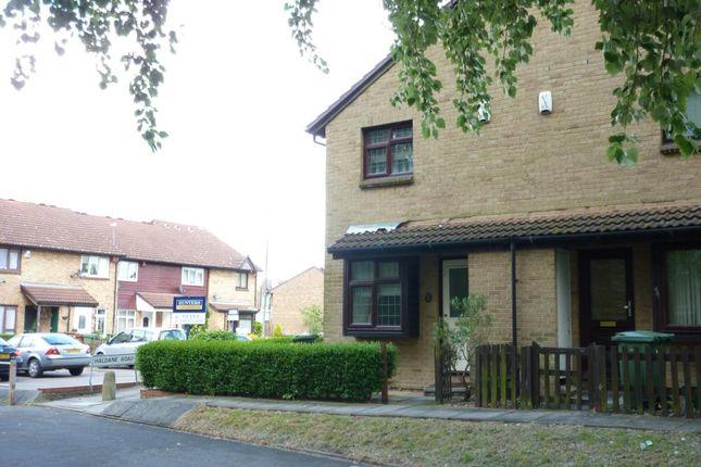 Thumbnail Terraced house to rent in Haldane Road, Thamesmead, London