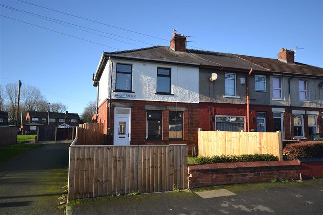 End terrace house in  Bright Street  Leigh  Manchester