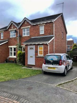 Thumbnail Semi-detached house to rent in Mast Drive, Victoria Dock