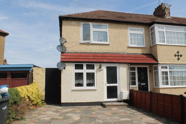 Thumbnail End terrace house for sale in The Loning, Enfield