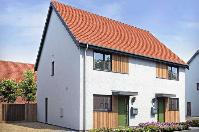 Thumbnail Semi-detached house for sale in Norwich Road, Hingham, Norwich