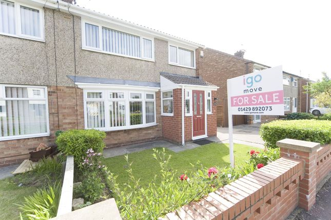 Thumbnail Semi-detached house for sale in Catcote Road, Hartlepool